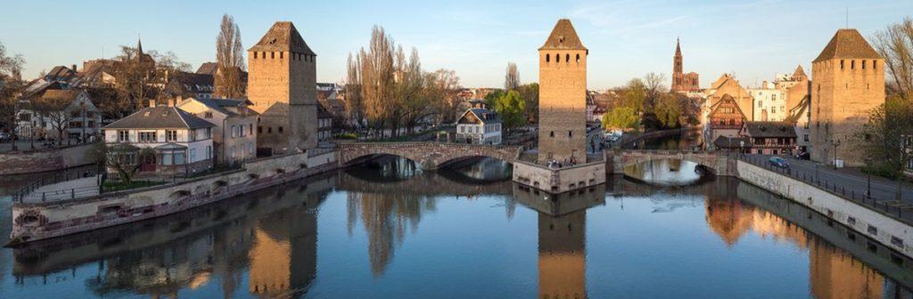 Photo des canaux de Strasbourg