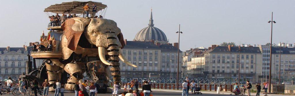 Photo du Nantes Tourisme Grand éléphant des Machines de l'Ile à Nantes