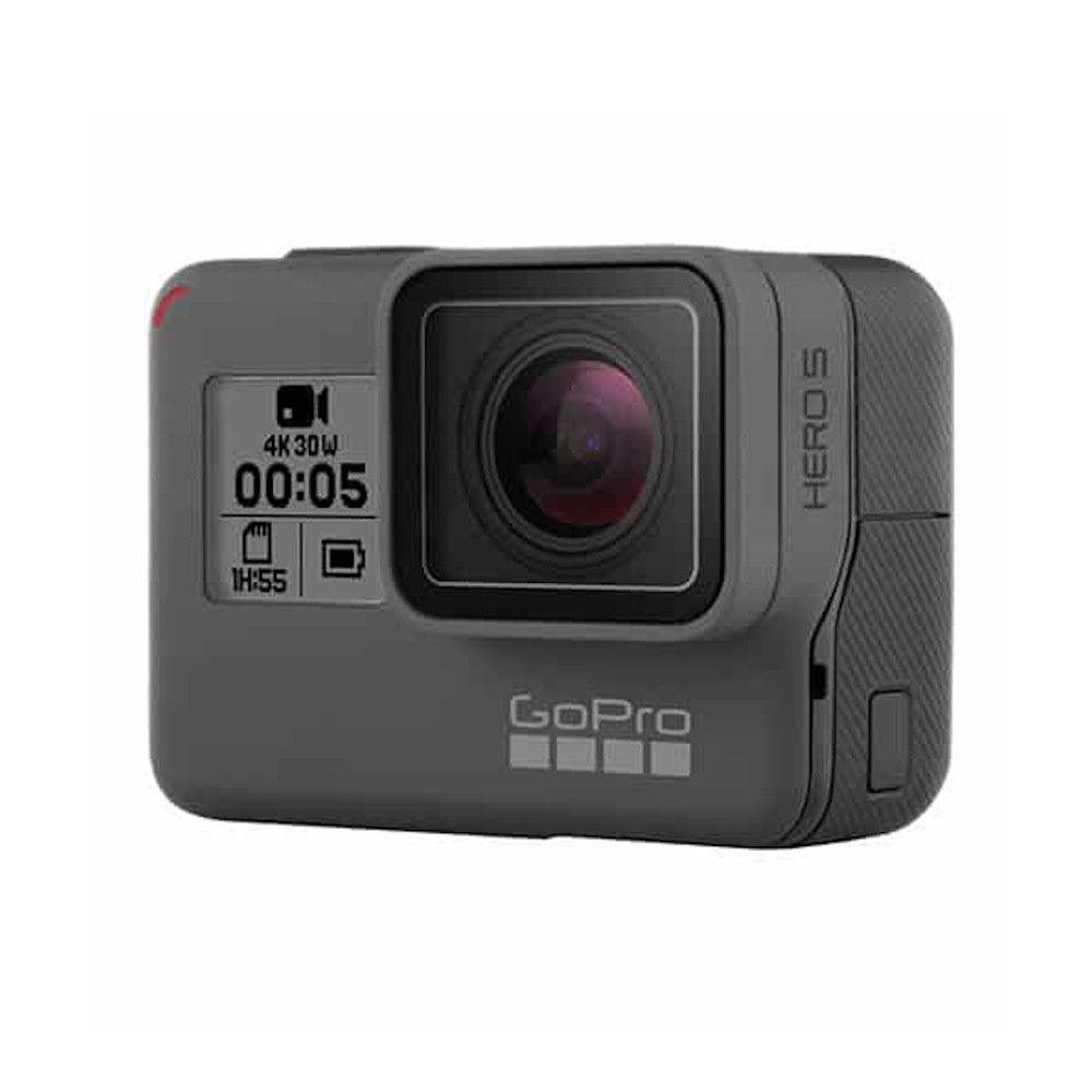 Photo 3/4 avant de la GoPro Hero 5 Black