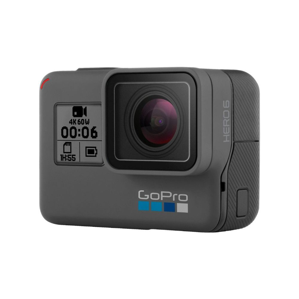 Photo 3/4 avant de la GoPro Hero 6 Black