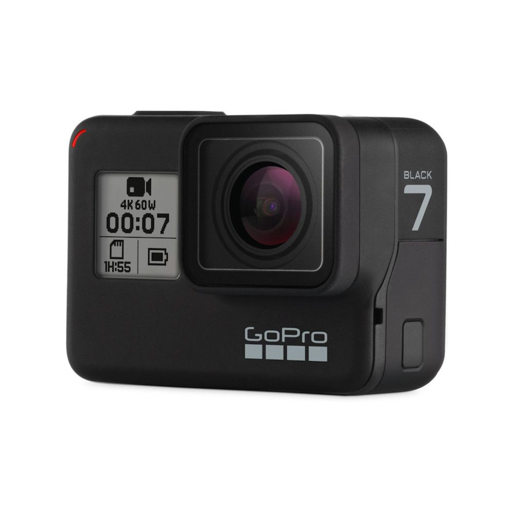 Photo 3/4 avant de la GoPro Hero 7 Black
