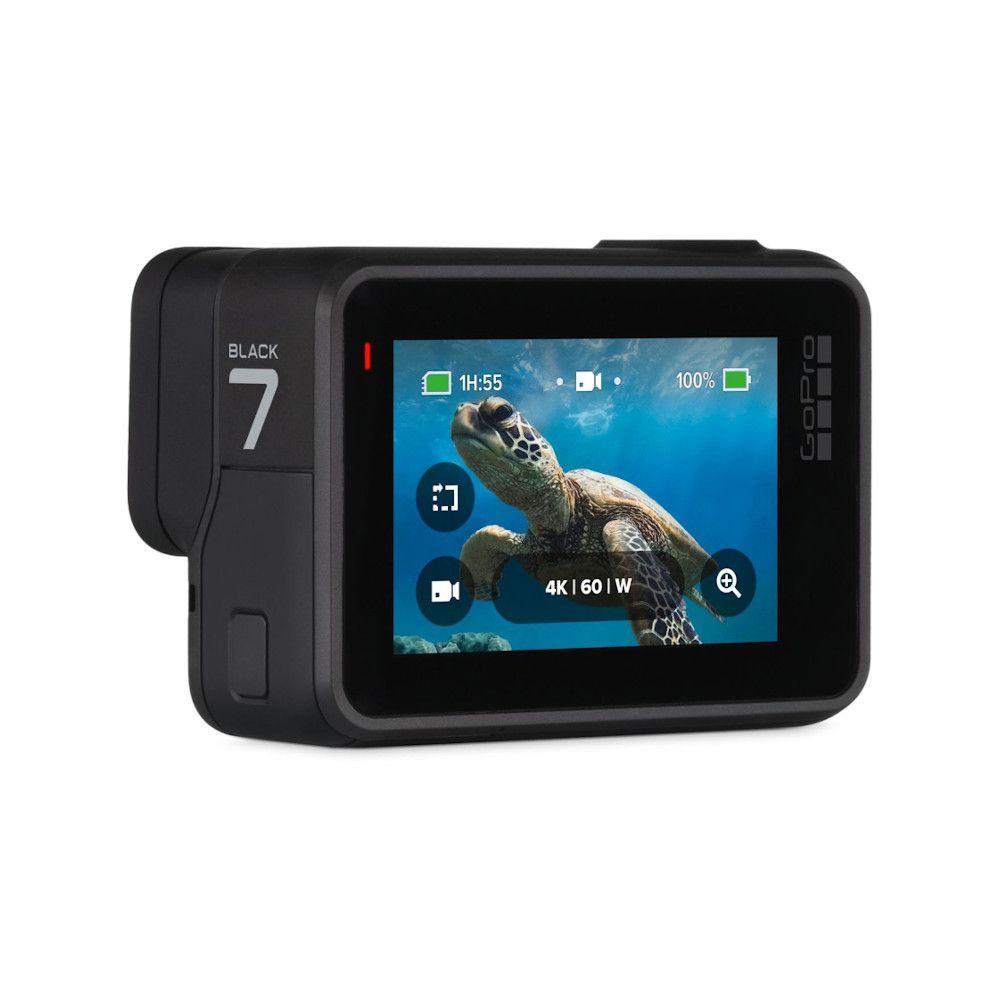 Photo 3/4 arrière de la GoPro Hero 7 Black